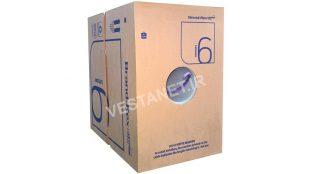 کابل شبکه برندرکس اورجینال Cat6 Plus UTP روکش LSZH فلوک پاس