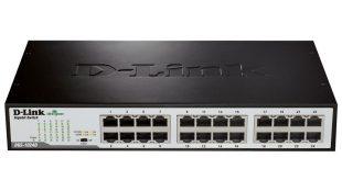 سوئیچ شبکه دی-لینک ۲۴ پورت ۱۰/۱۰۰/۱۰۰ گیگابیت DGS-1024D
