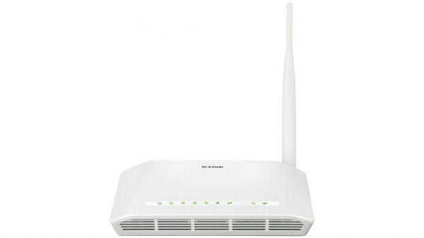 مودم روتر بیسیم +ADSL2 دی-لینک N150 مدل D-LINK DSL-2730U