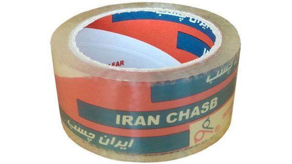 چسب پهن ایران چسب 50 میکرون 90 یارد 48 میلی متر کریستال مدل 011