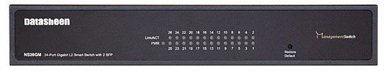 سوئیچ 24 پورت مدیریتی دیتاشین ns26gm